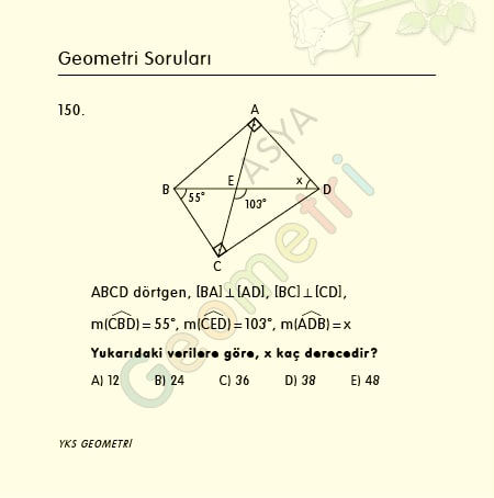 geometri soruları