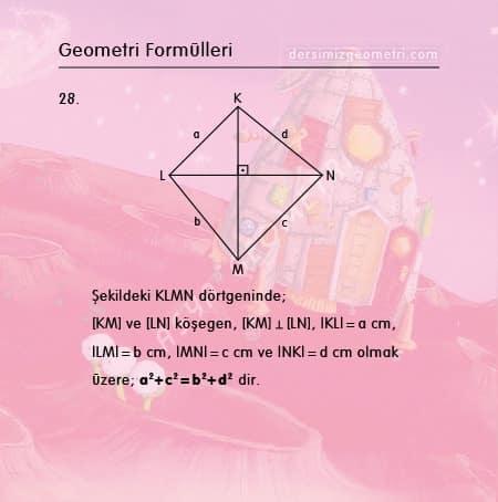 dörtgen formülleri